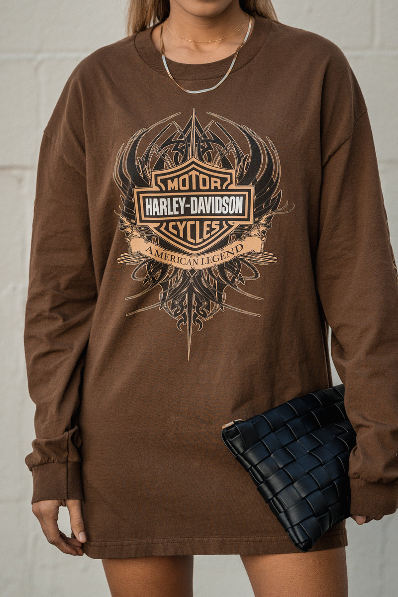 Denver Harley Davidson Vintage Long Sleeve