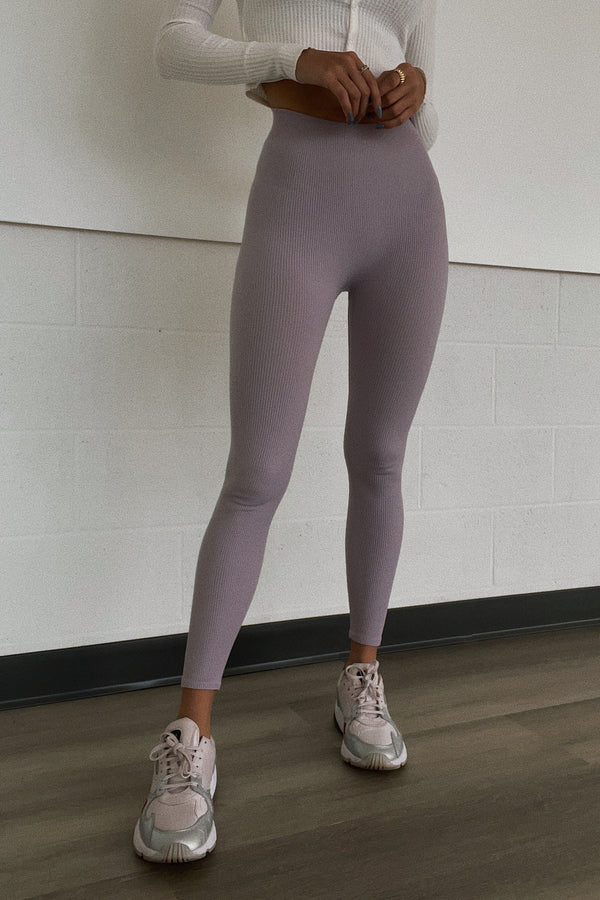MACKAY SEAMLESS LEGGINGS LAVENDER