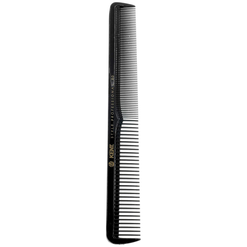 Kent SPC80 Professional Handmade Cutting Comb with Deep Coarse and Fine Teeth (184mm)