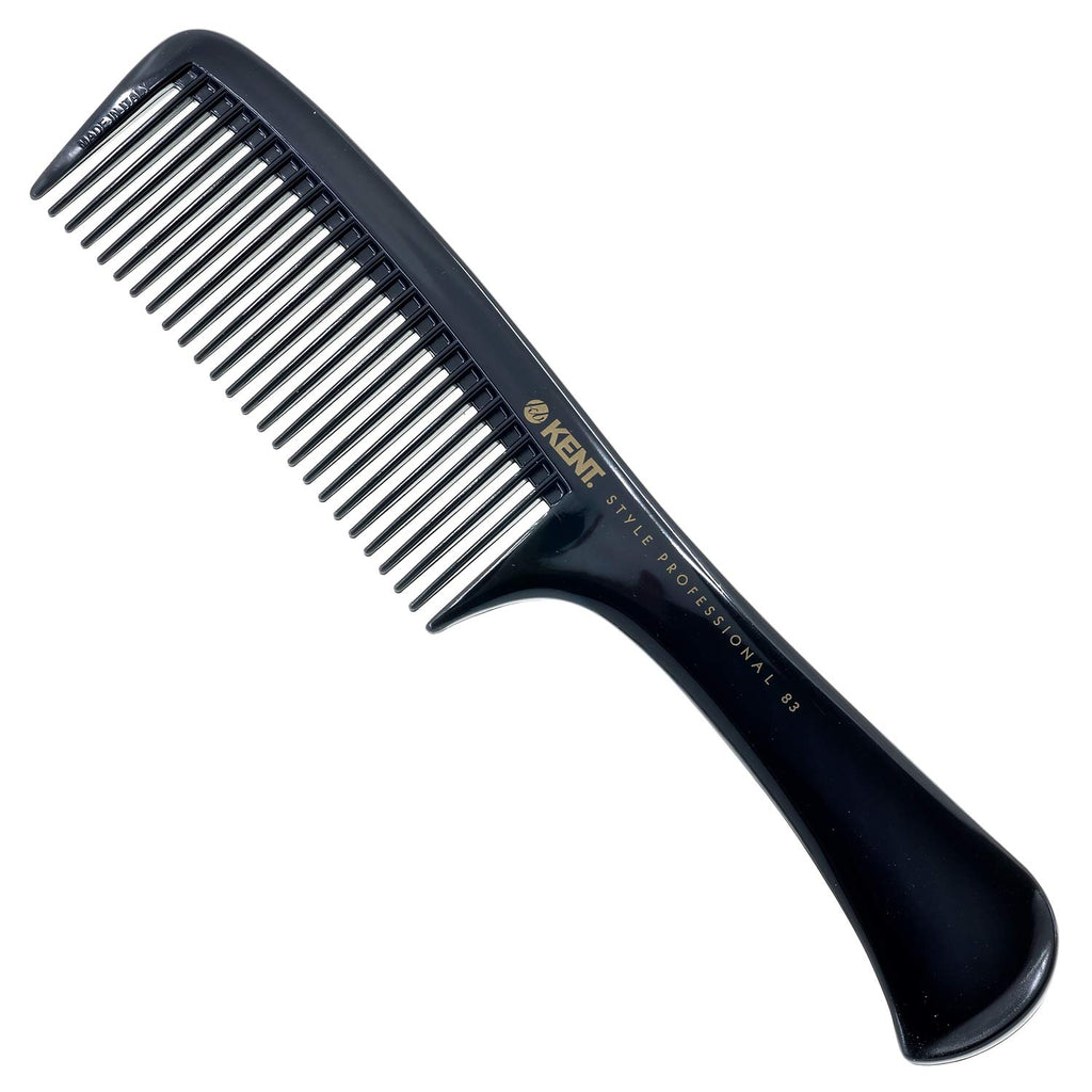 Kent SPC83 Handmade Handled Rake Detangle Comb with Coarse Wide Teeth