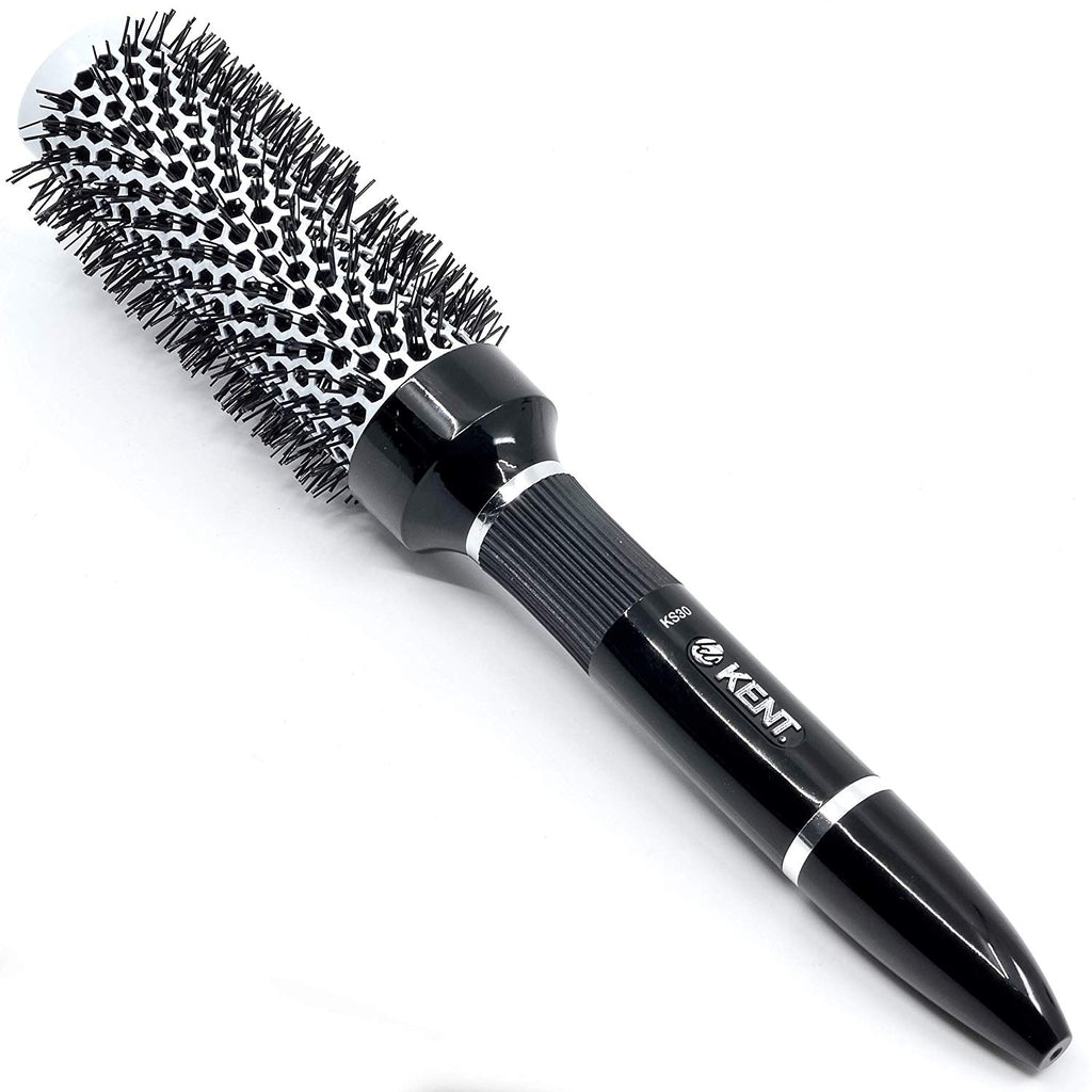 Kent KS30 Salon Style Hair Brush. Ceramic Coated Round Large
