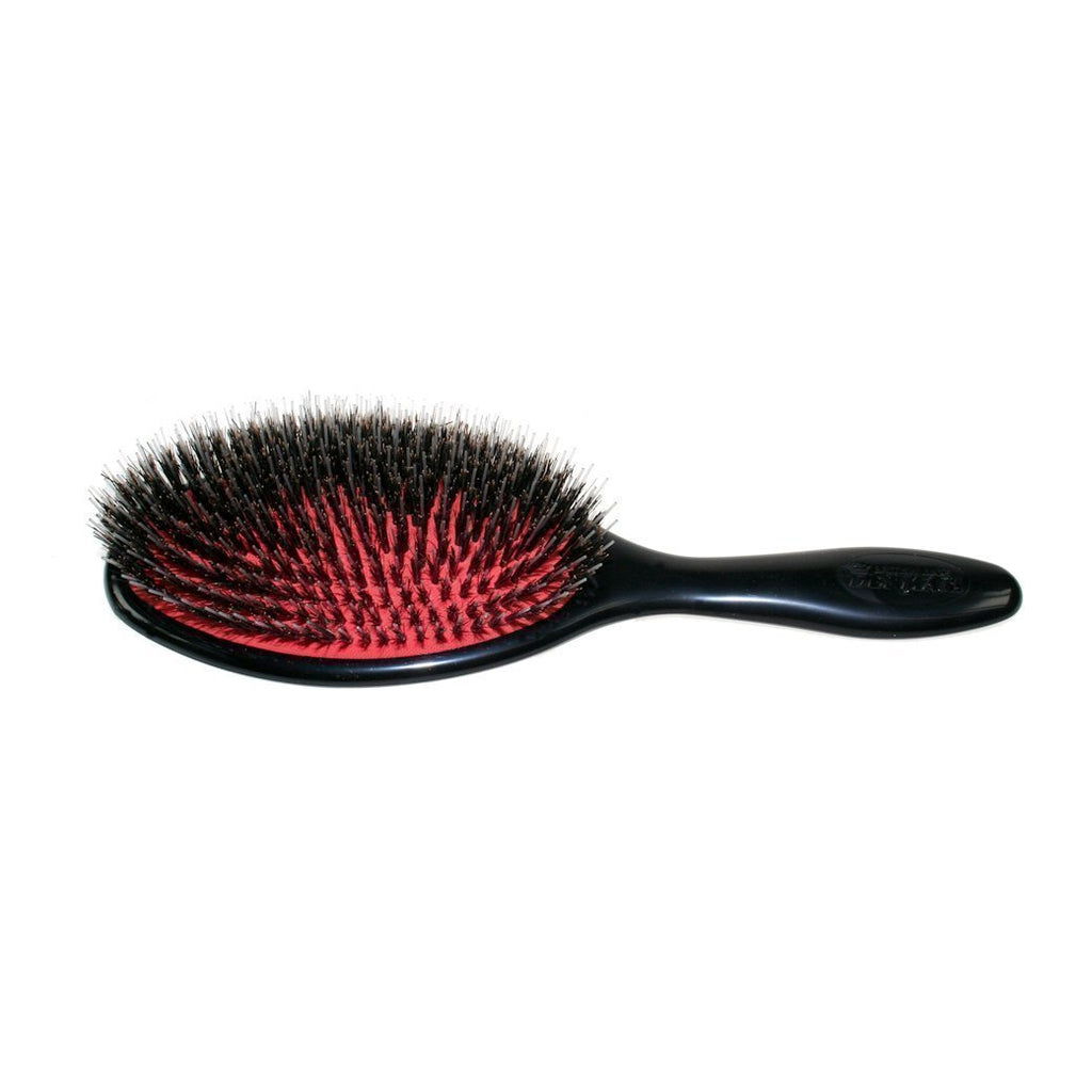 Denman X11  Hair Brush with natural bristle and single nylon quill Hair Brushes