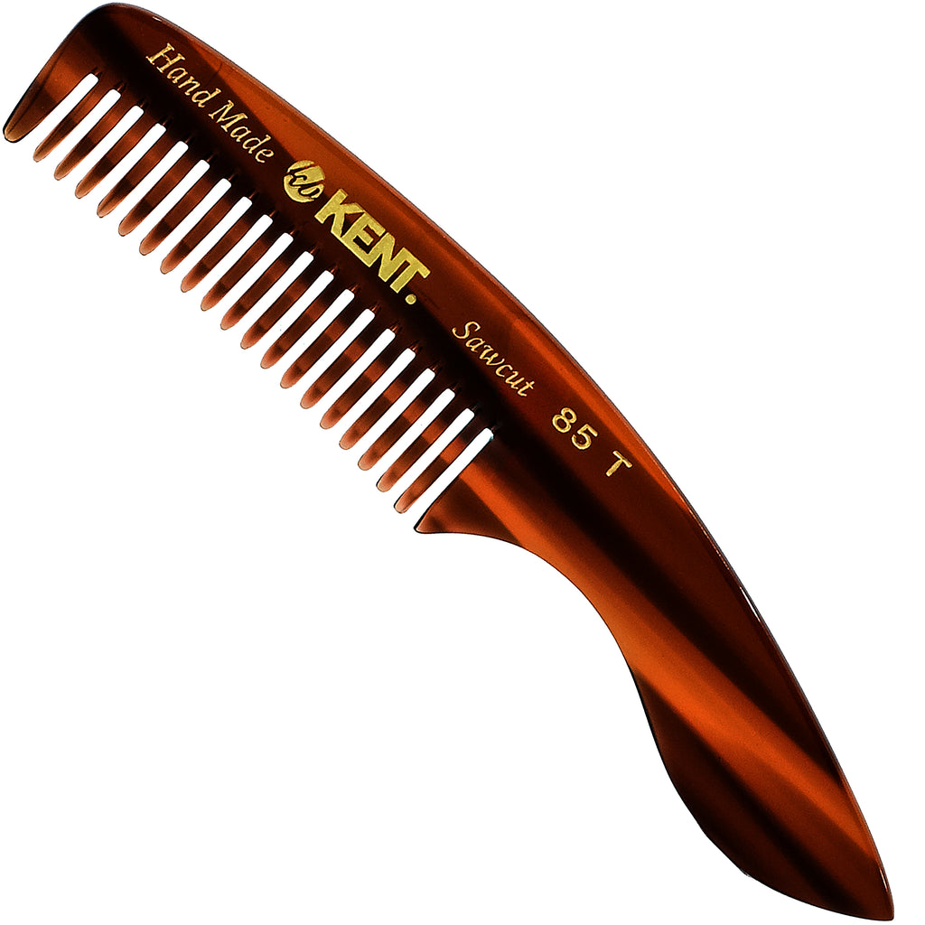 Kent 85T 4.75 Inch Small Men's Fine Pocket Beard & Mustache Comb