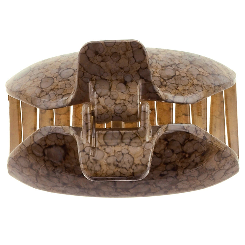 "CAMILA PARIS CP2562 (2.5"") French Made Hair Accessories, Hair Clips, Decoration and Colors, Brown"