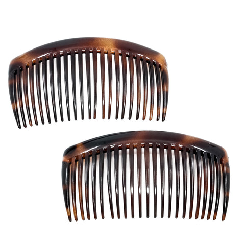 Camila Paris Classic Tortoise Shell French Hair Side Comb for Women