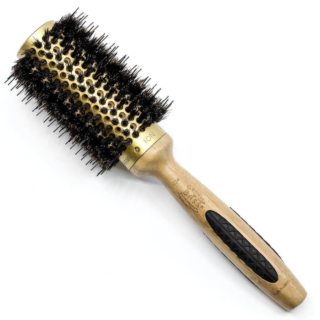 BASS BS08 Radial Hair Brush Curling Styling Boar & Nylon Bristles