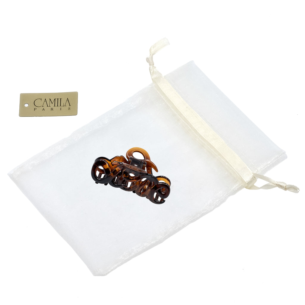 Camila Paris CP1380 Classic Tortoise Women's French Hair Clip Claw