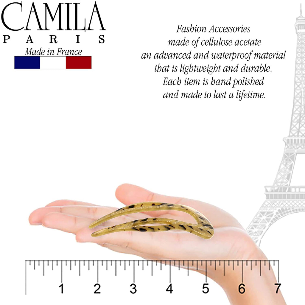 Camila Paris CP2502 French Twist Stick Pin for Women Handmade Geige