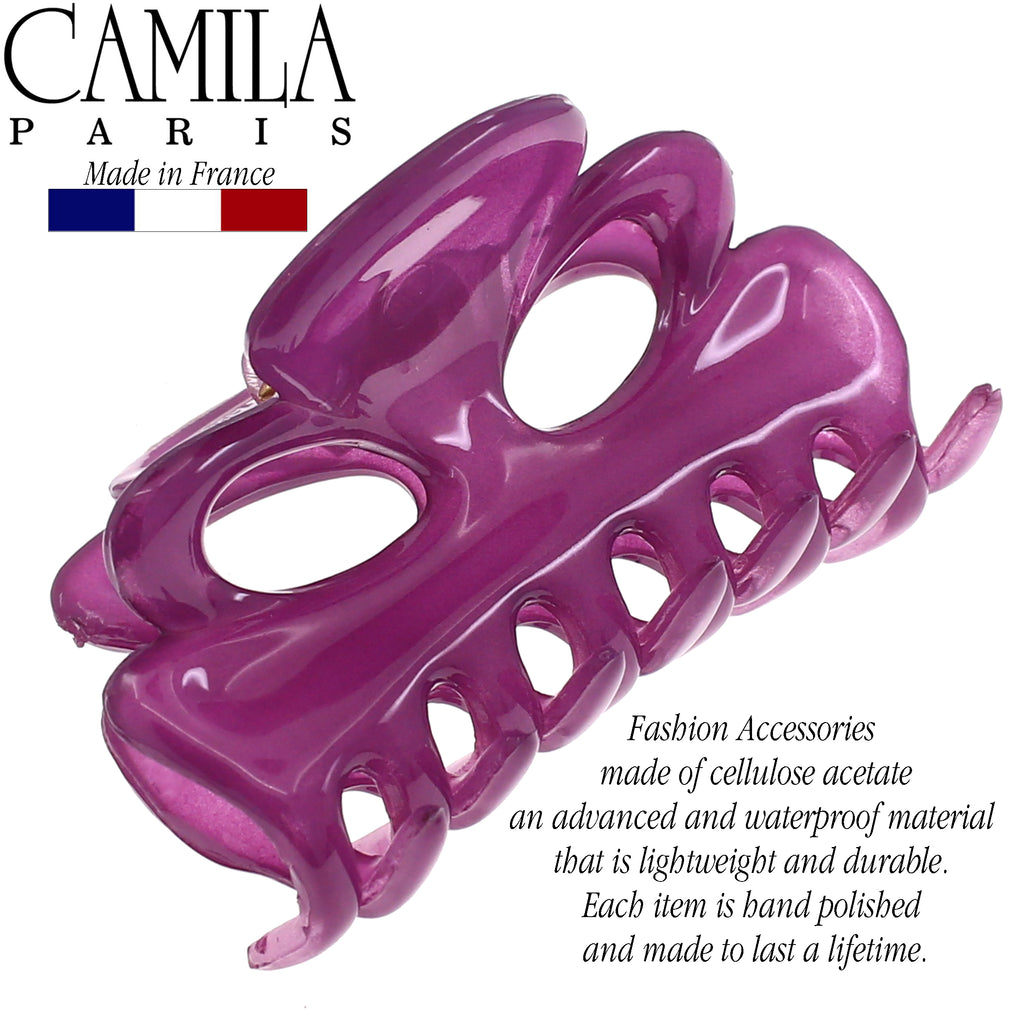 Camila Paris CP2535 2.25 Inch French Hair Clip for Women