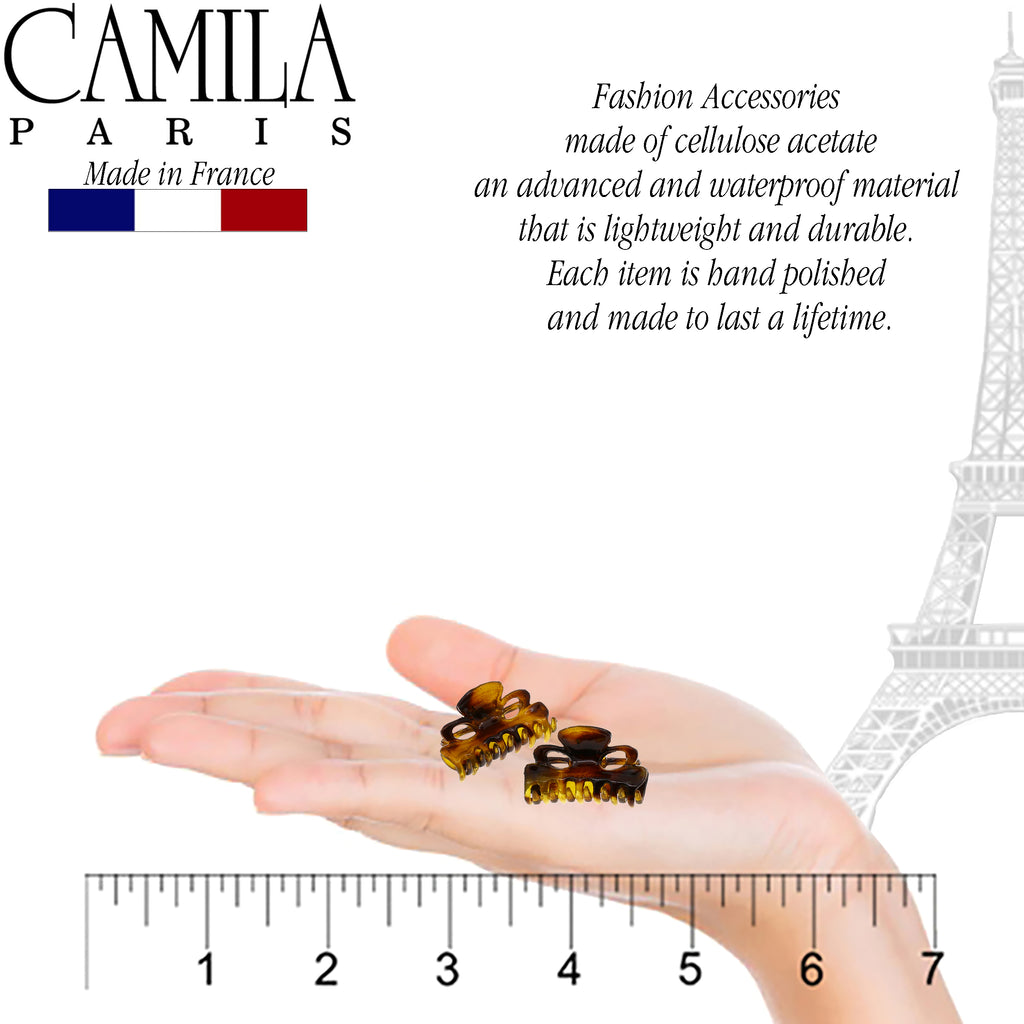 Camila Paris CP2608-2 Small Tokyo Women's French Hair Clip Claw