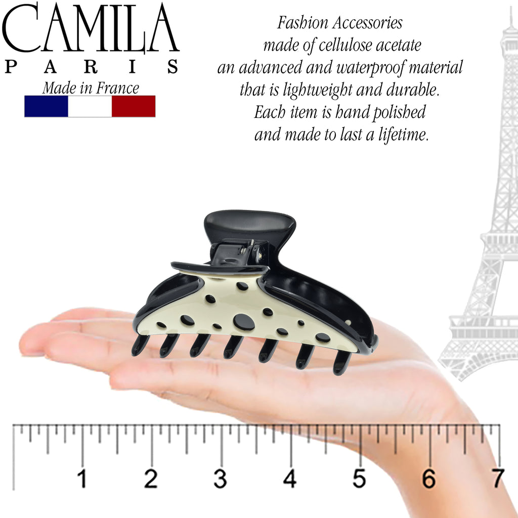 Camila Paris CP2311 Double Wave French Hair Clips for Women