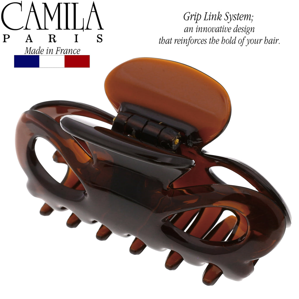 Camila Paris CP2767 3 Inch French Hair Clip for Women with Grip Link