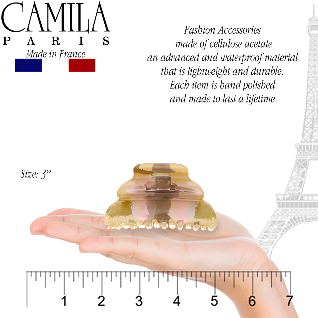 Camila Paris CP2787 French Hair Clip Claw for Women. Made in France