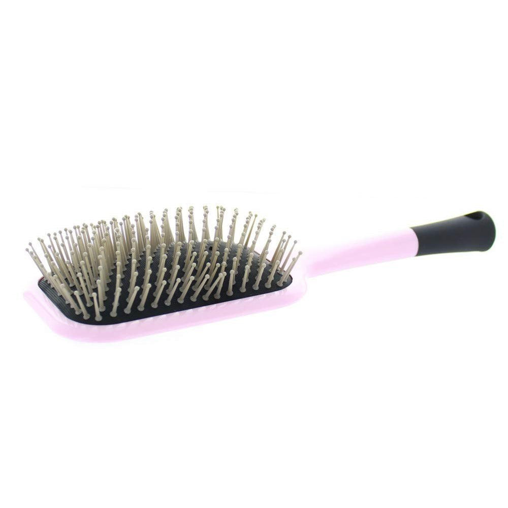 Elegant E140 Cushion Paddle Brush Scalp Massager and Detangle Brush