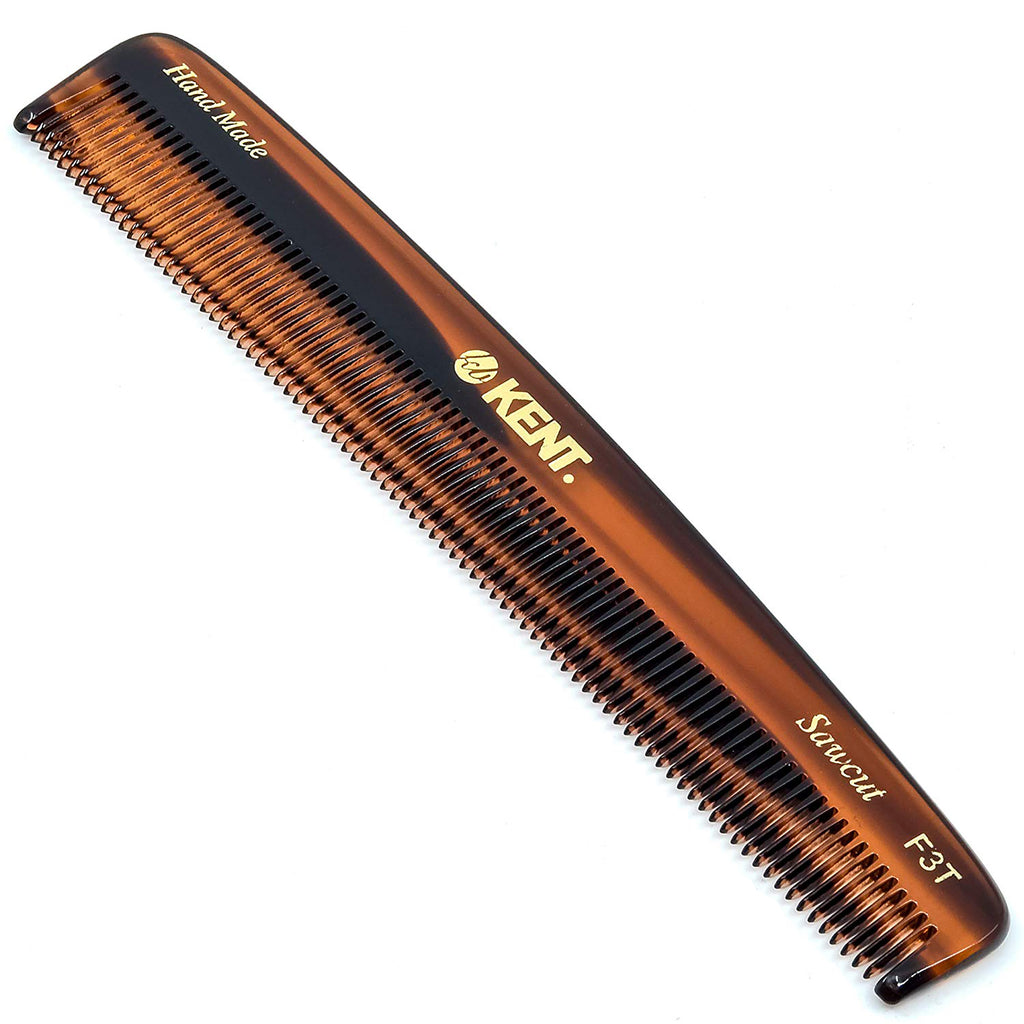 "Kent F3T 6.25"" Hand Made All Fine Men Women Dressing Comb. Sawcut"
