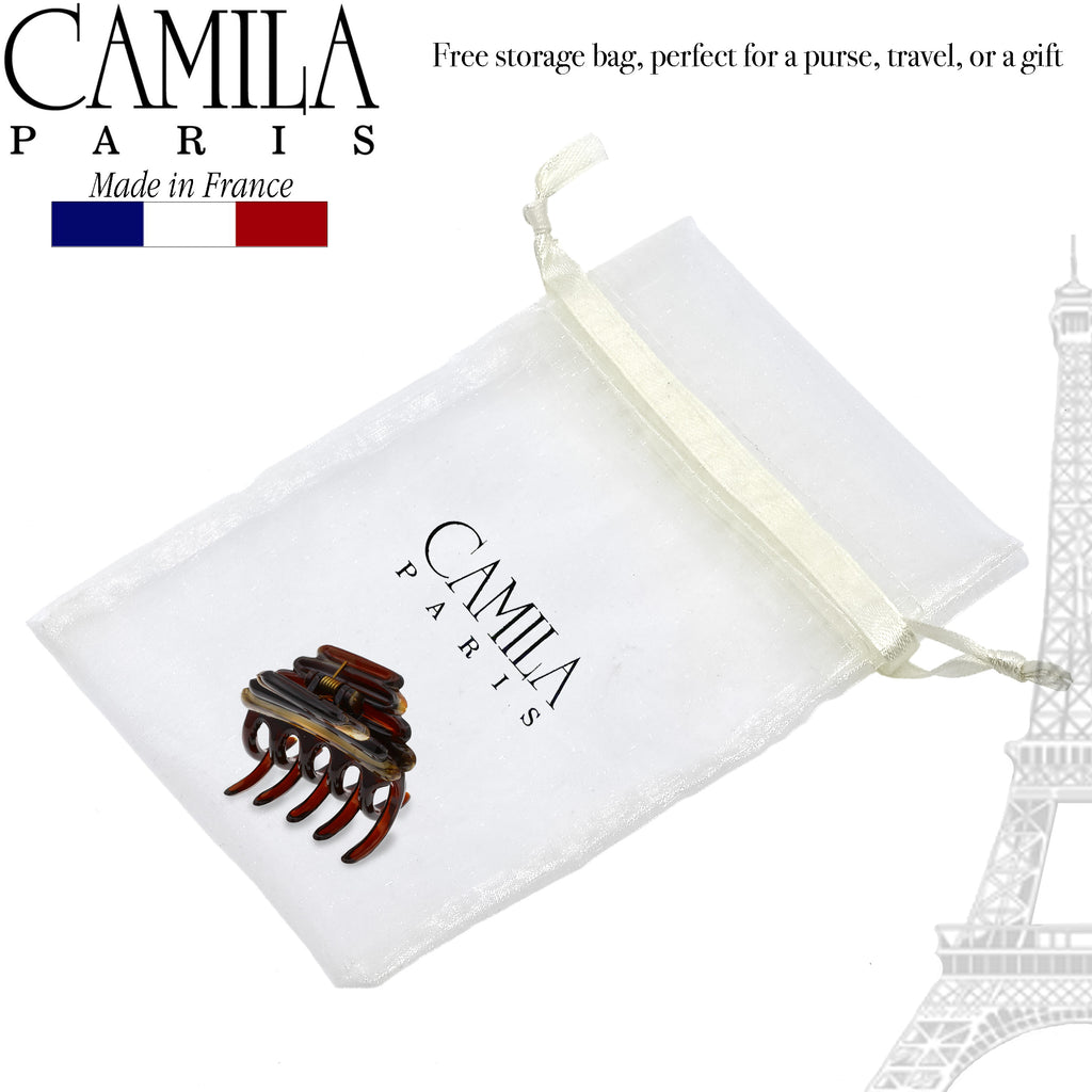 Camila Paris MP944 Tortoise Shell Women's French Hair Clip Claw