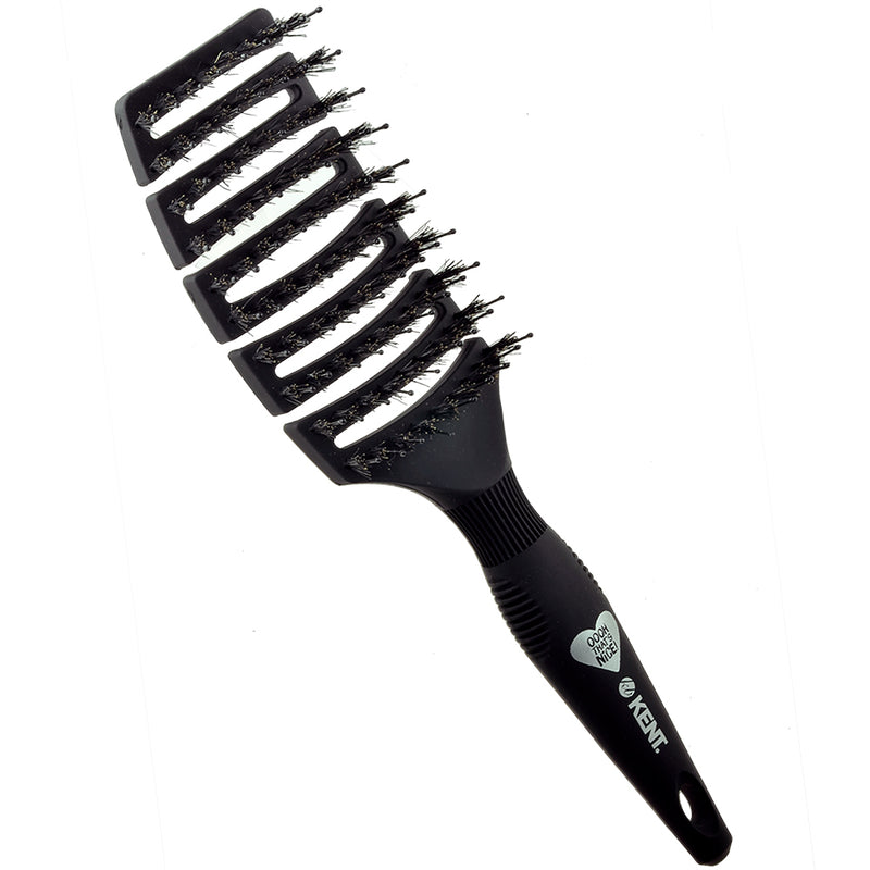 Kent OOOH Pure bristle and Nylon mix  Hair Brush