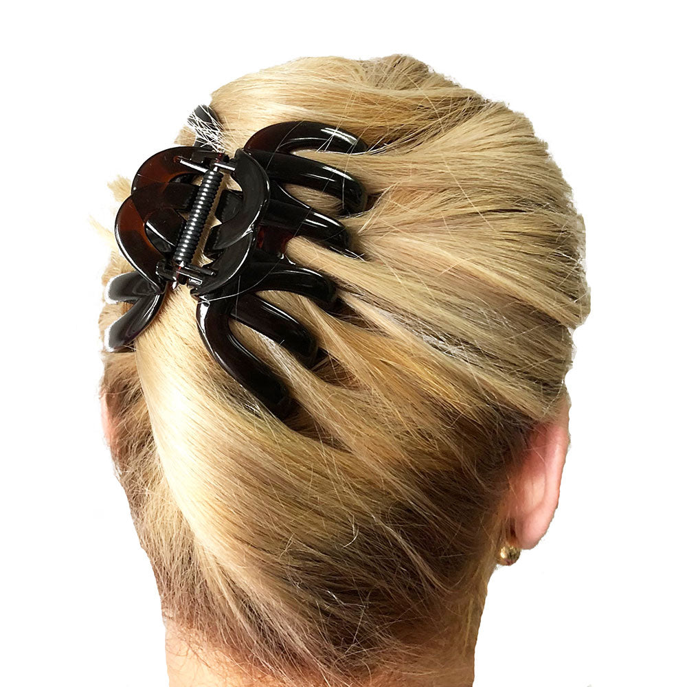 "Camila Paris AD718 (3 1/2"") French Made Hair Accessories, Octopus Hair Clips Hair Accessories"