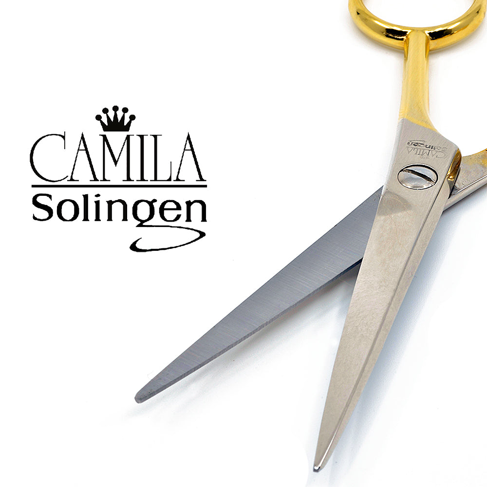 Camila Solingen CS07 Small Professional Barber Shears. Hypoallergenic