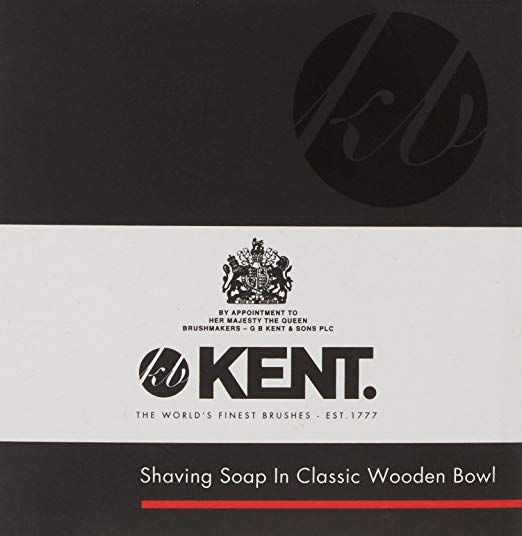 Kent SB1 Shaving Bowl And Soap Shaving Cream