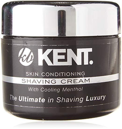 Kent SCT2 Shaving Cream. The Ultimate in Shaving Luxury - Skin conditioning With Cooling Menthol. Shaving Cream