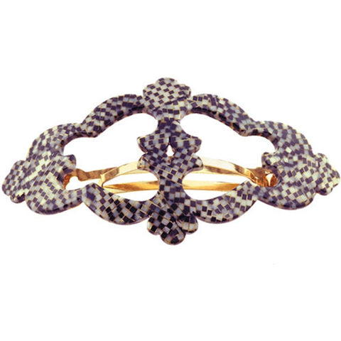 "Camila Paris CP1978 (3 3/4"") French Made Hair Accessories for Women, Barrettes, Handmade"