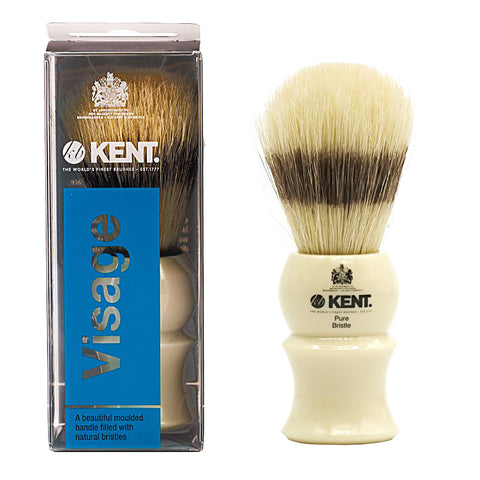 Kent VSB5 Shaving brush holder. Ivory Small Neck Shaving Brush Stand