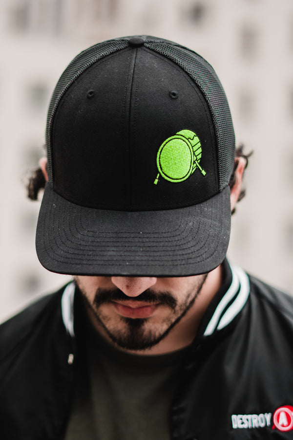 Signature Logo Lucky Green Trucker Cap