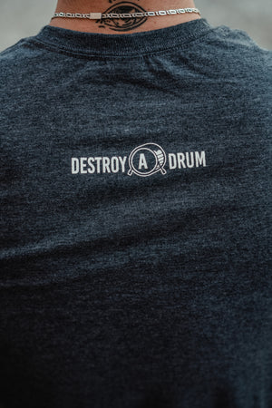 Destroy A Drum Dark Heather Tee