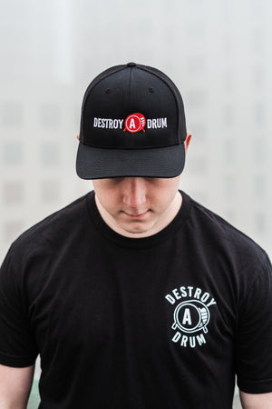 Destroy A Drum Flex Fit Cap