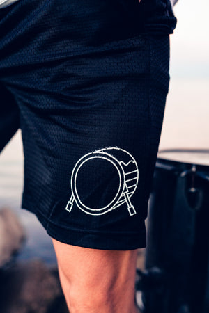 Signature Logo Mesh Shorts (w/pockets)