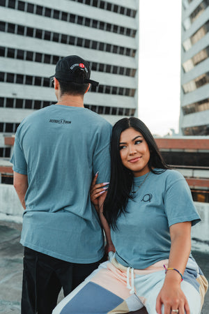 Embroidered Comfort Colors Signature Logo Tee