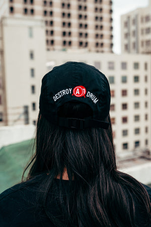 Embroidered Signature Logo 5 Panel Cap