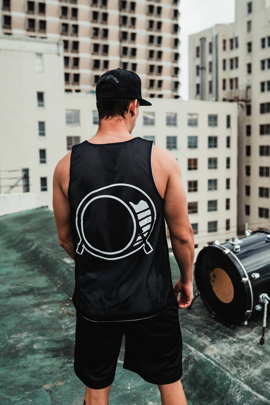 Destroy A Drum Signature Bass Drum Jersey