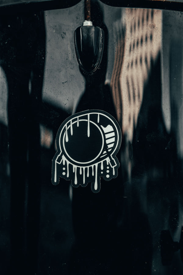 Signature Logo Drip Sticker