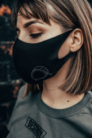 Signature Logo Mask