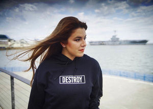 Beautiful Destruction Black Hoodie