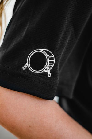 Embroidered Signature Logo Performance Polo
