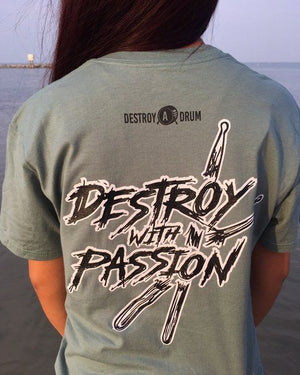 Destroy With Passion Pocket Tee