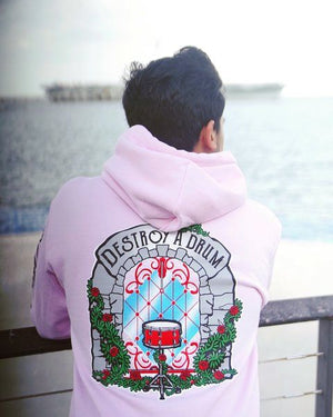 Beautiful Destruction Pink Hoodie