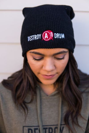 Destroy A Drum Slouch Beanie