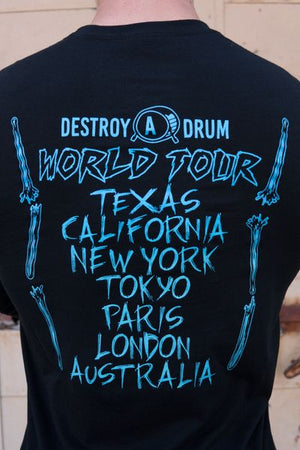 Destroy A Drum World Tour Long Sleeve