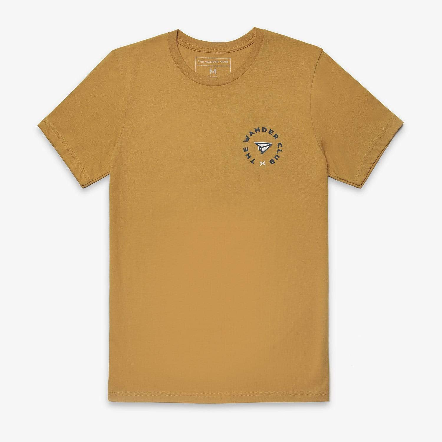 It's Time to Go - Unisex Tee (Mustard)