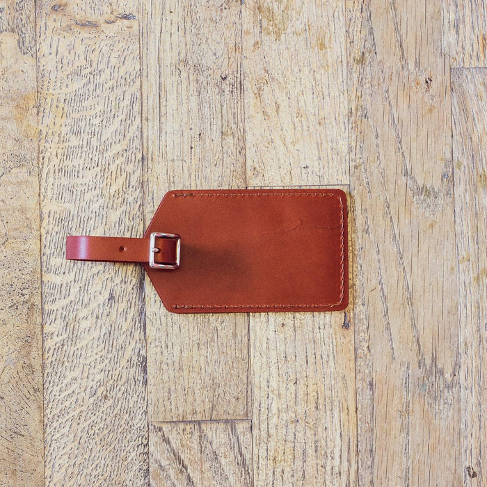 Brown Luggage Tag