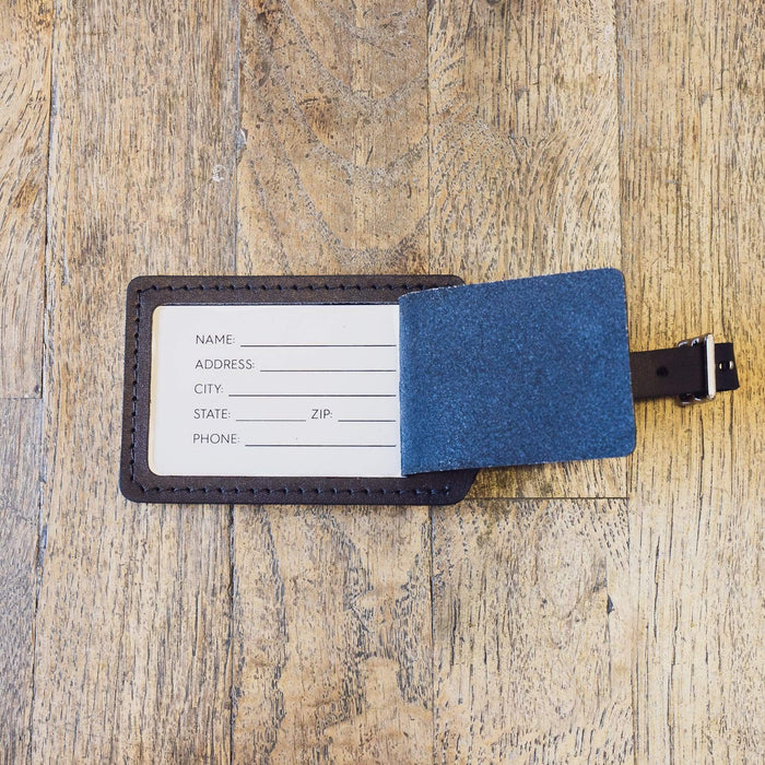 Black Luggage Tag