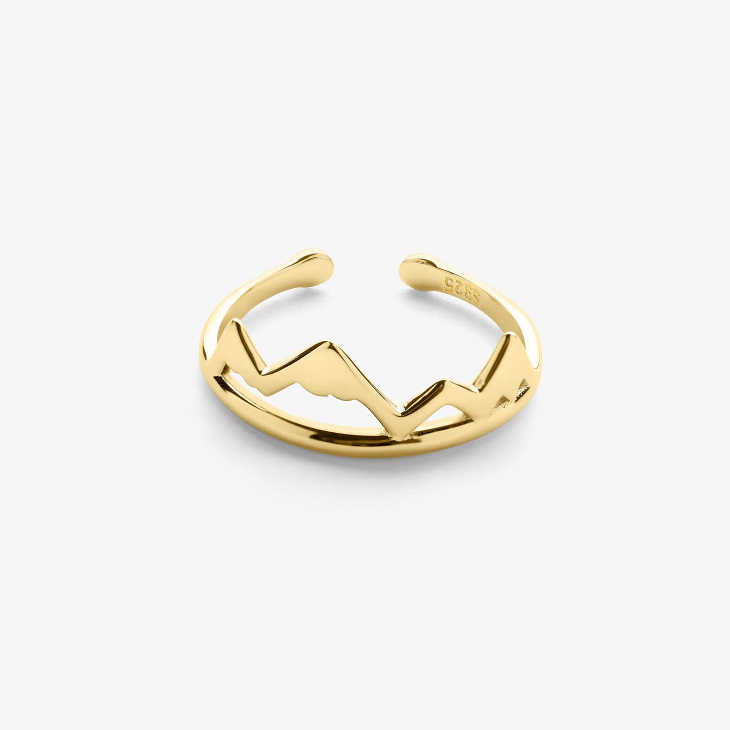 Mountain Ring (Gold)