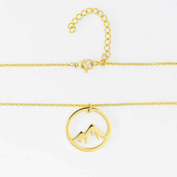 Mountain Necklace (Gold)
