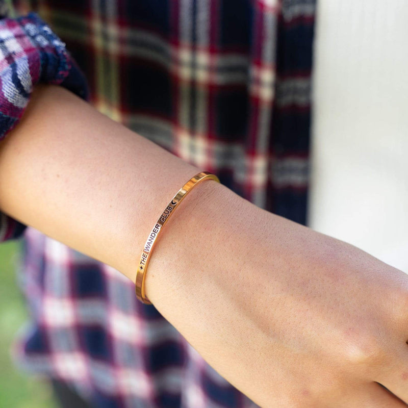 Mantra Cuff (Rose Gold)