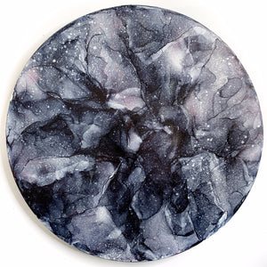 Gray Rose Moon 12""