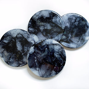 Gray Moon Coasters